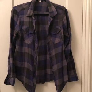 Urban Outfitters BDG super soft purple flannel